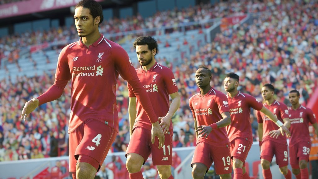 pro evolution soccer 2019 liverpool