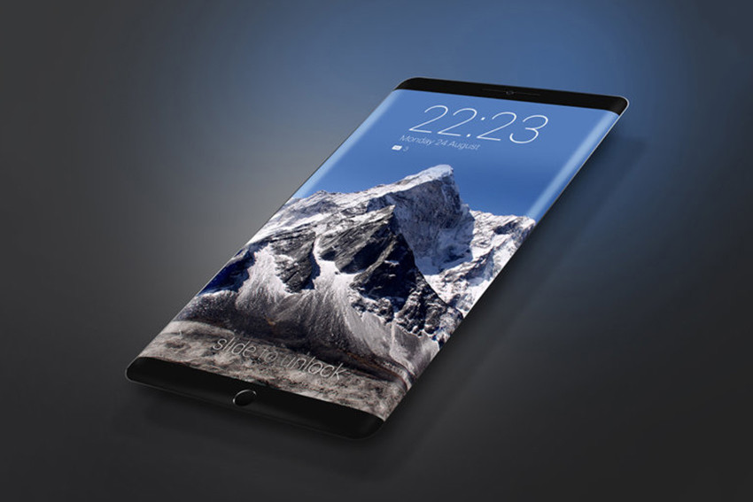 iPhone concept edge