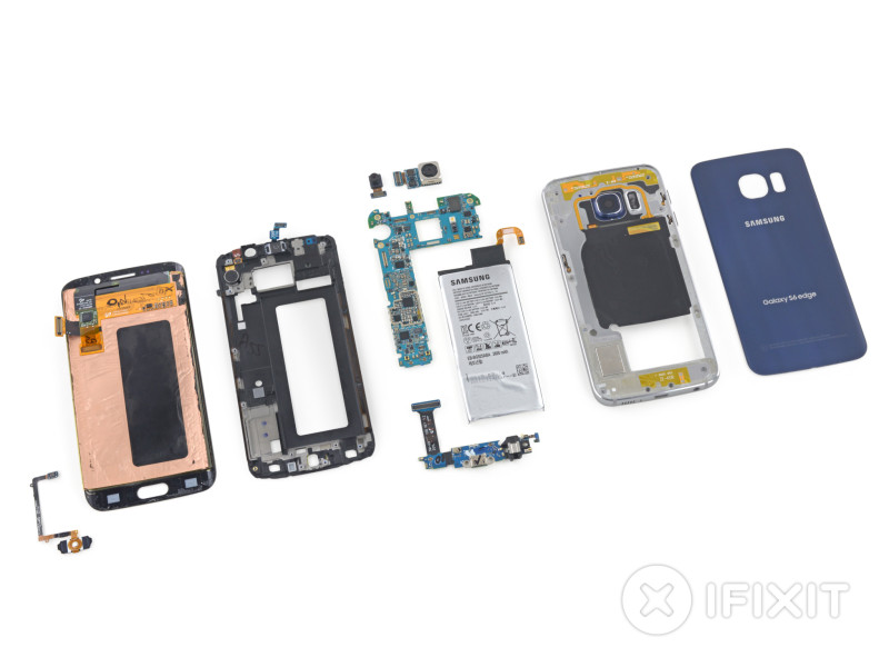Galaxy S6 Edge smontato