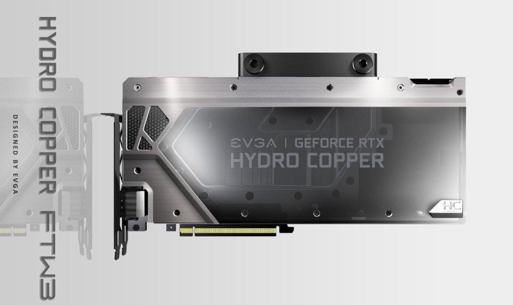 EVGA RTX 2080 Hydro Copper FTW3
