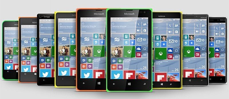 windows 10 lumia smartphone