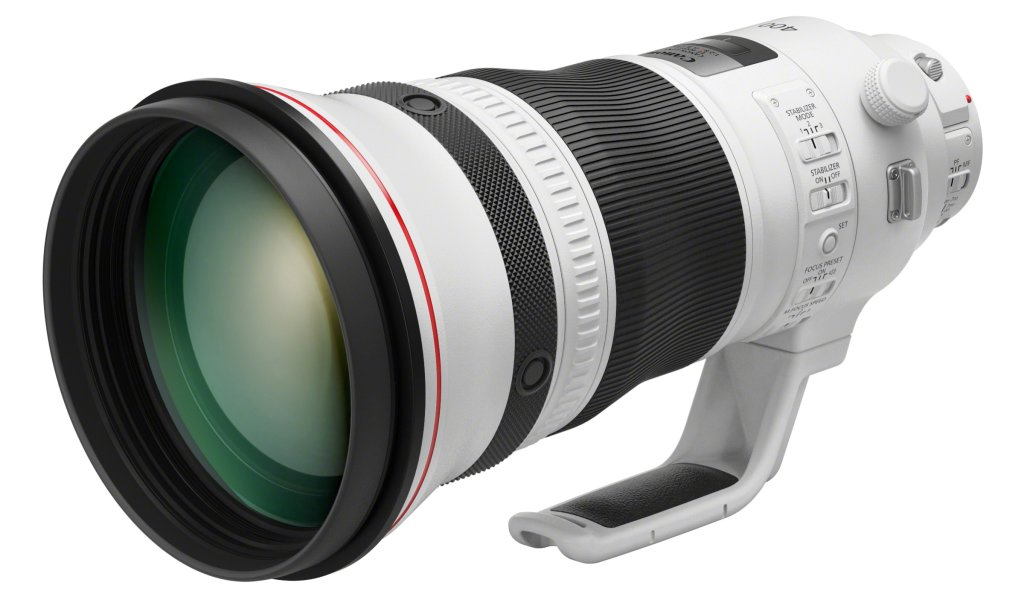 EF 400mm f2 8L IS III USM Front Slant
