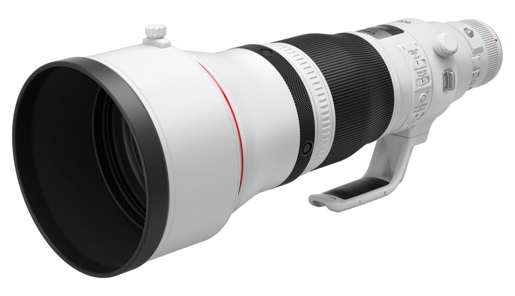 EF 600mm f4L IS III USM Front Slant with short hood RTI 810