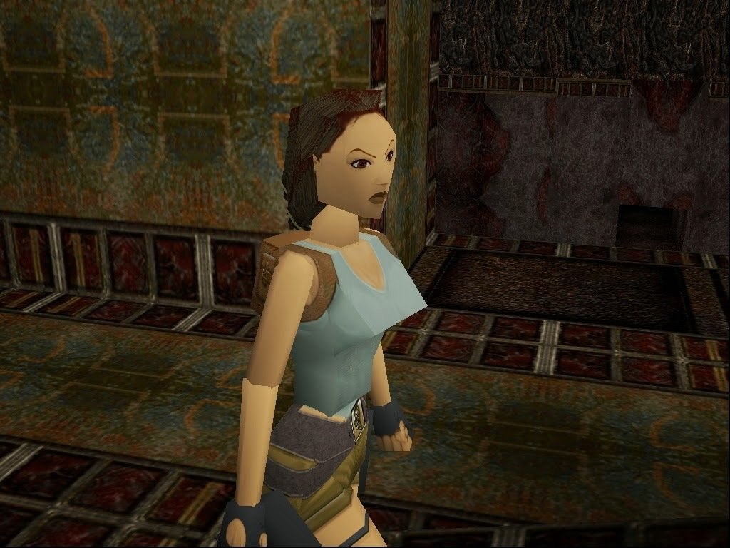 LARA CROFT CROFT PS1
