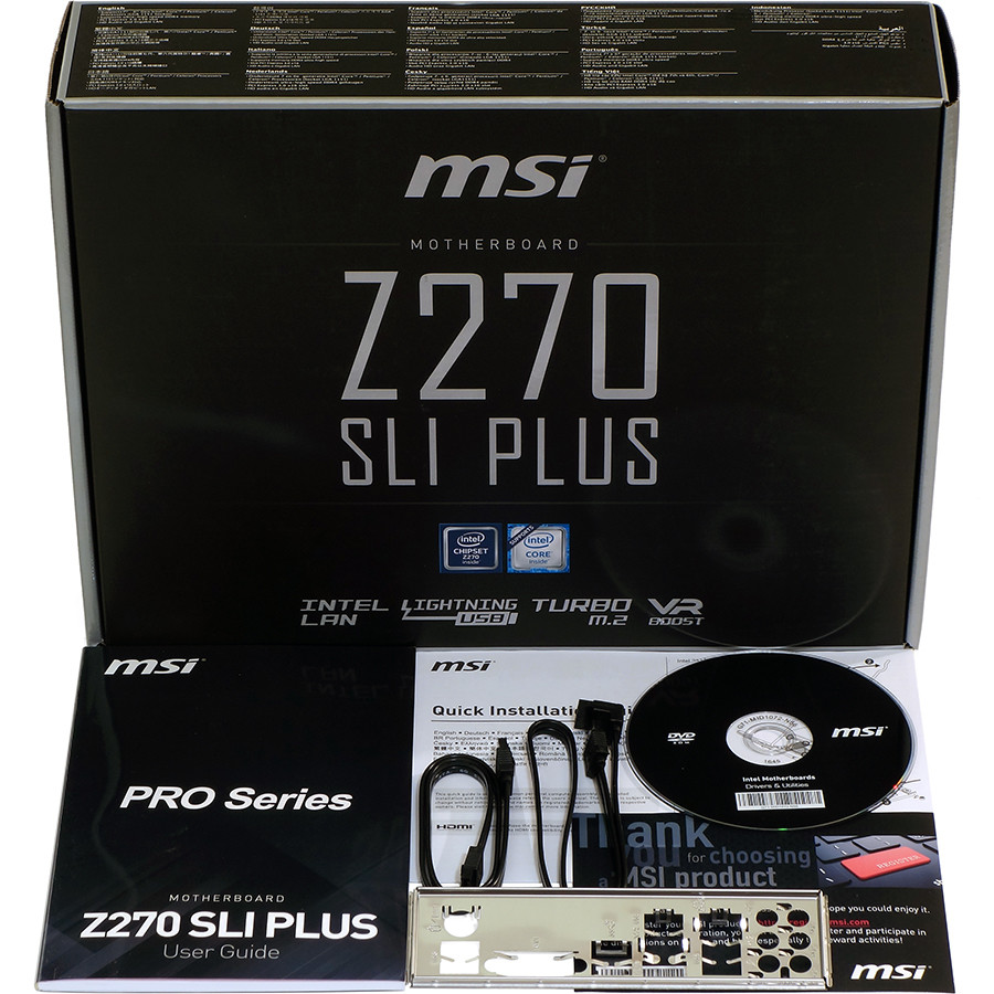 MSI Z270 SLI PLUS Kit