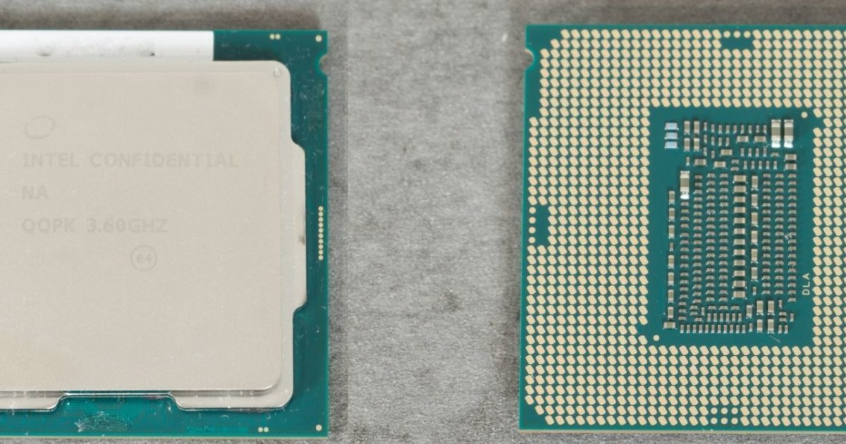 Core i7-9700K, spunta la recensione di un engineering sample