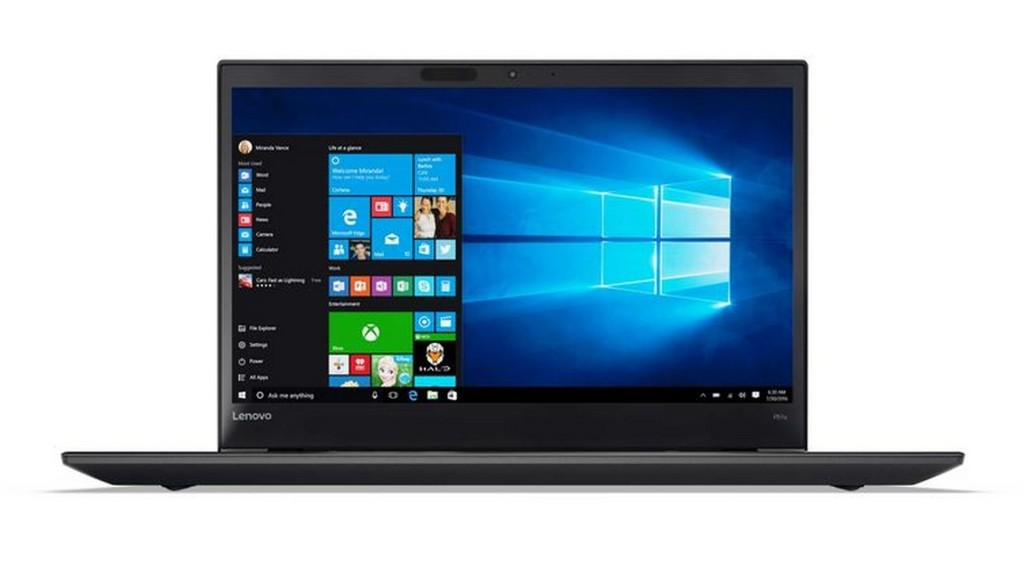 01 Thinkpad P51s 15inch Hero Shot Front forward facing Win 10 screen fill w 755