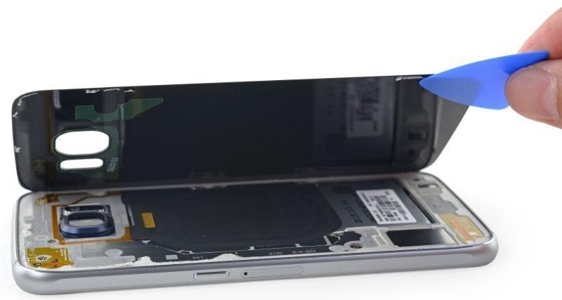 Sostituzione Display Schermo Rotto Samsung Galaxy S6 EDGE