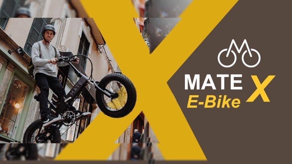 Mate X La Bici Elettrica Danese Che Impazza Su Indiegogo Motorlabs