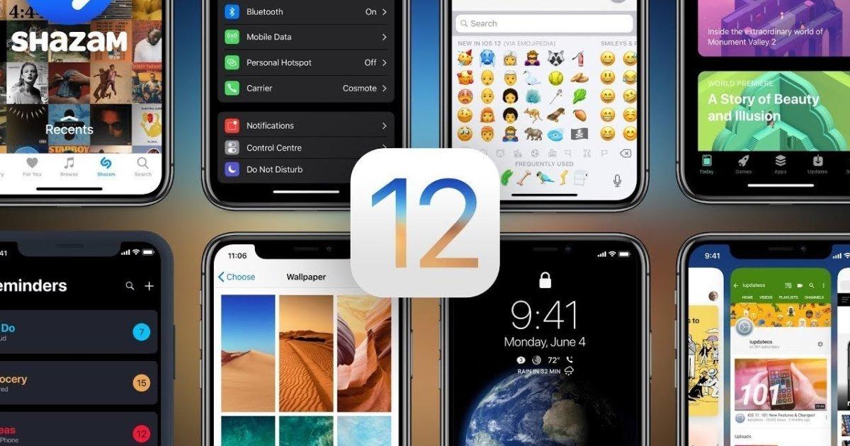 iOS 12 arriva oggi: nuova vita agli iPhone e iPad più vecchi