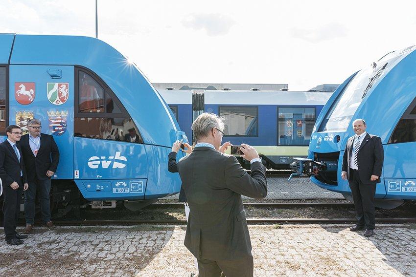 In Germania arriva il treno a vapore (acqueo)