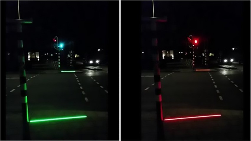 Bodegraven lights to warn mobile phone users