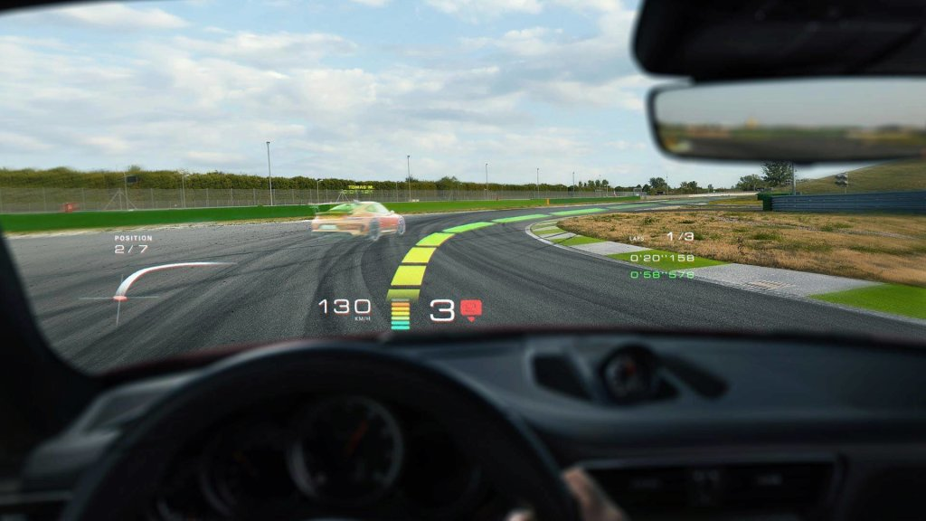 porsche augmented reality windshield (1)