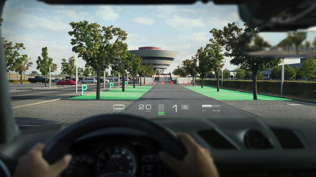 porsche augmented reality windshield (2)
