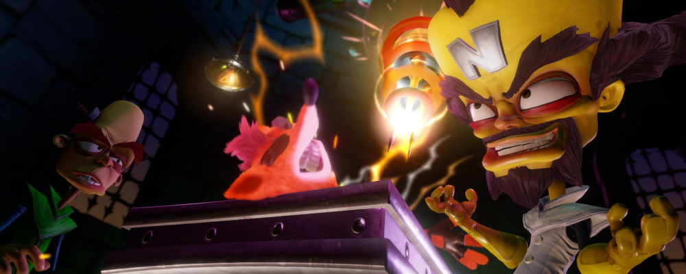 Crash Bandicoot, data d'uscita e trailer per la trilogia PS4