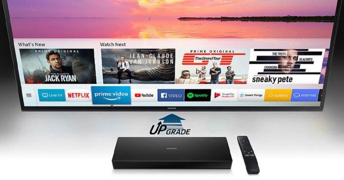 Samsung Evolution Kit 2018, le TV vecchie diventano smart