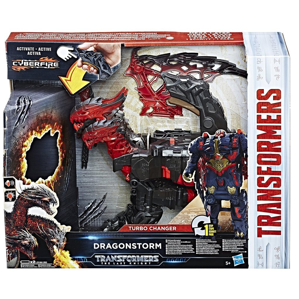 Transformer Dragonstorm Turbochanger