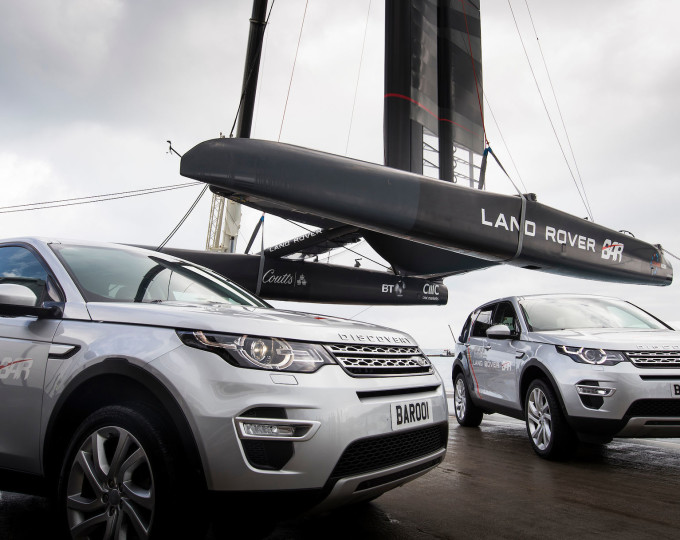 Con Siemens, Land Rover BAR punta all'America's Cup