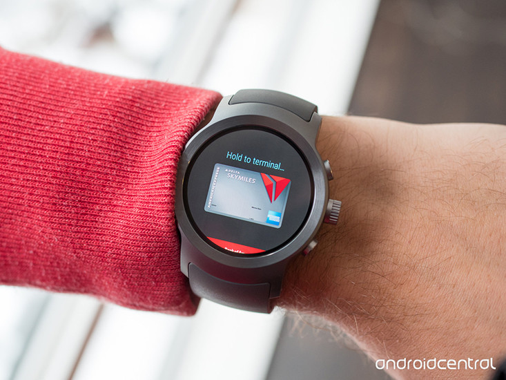 android pay lg watch sport