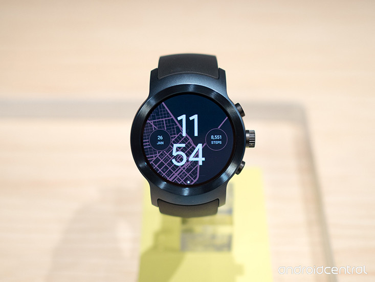 lg watch sport dark blue