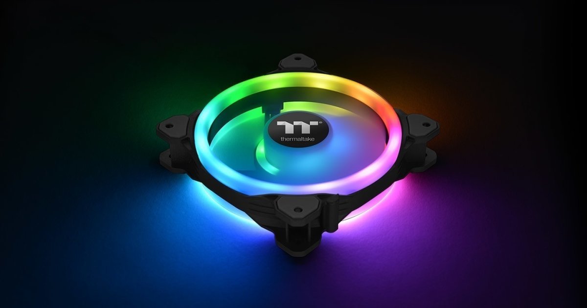 Thermaltake Riing Trio 14 RGB, set di ventole per radiatori