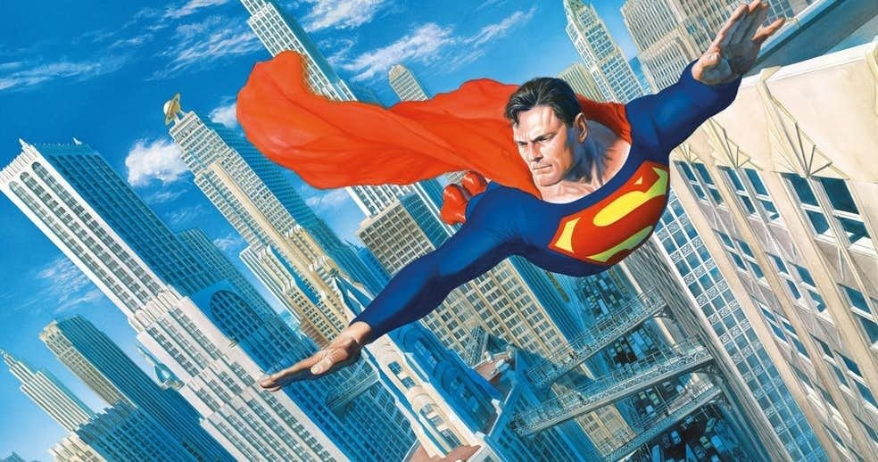 Superman metropolis alex ross