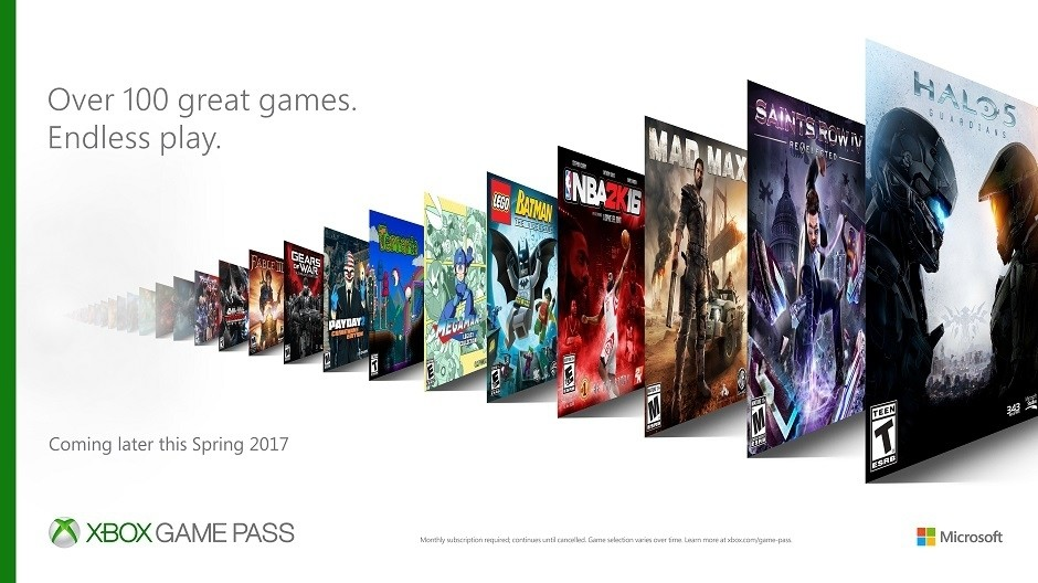 Xbox Game Pass Hero hero