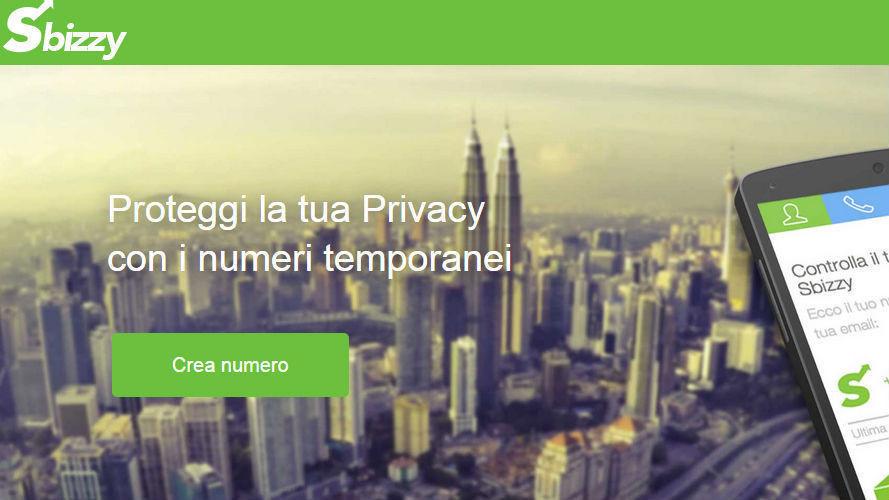 Creare un numero di telefono virtuale con Sbizzy, geniale idea italiana