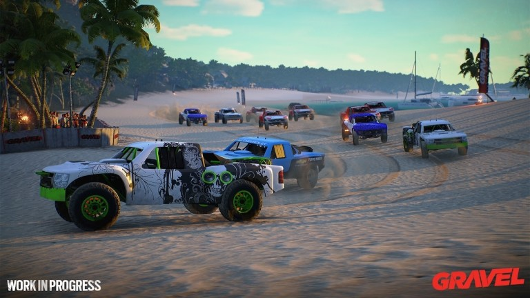 gravel il racing game italiano basato su unreal engine 4