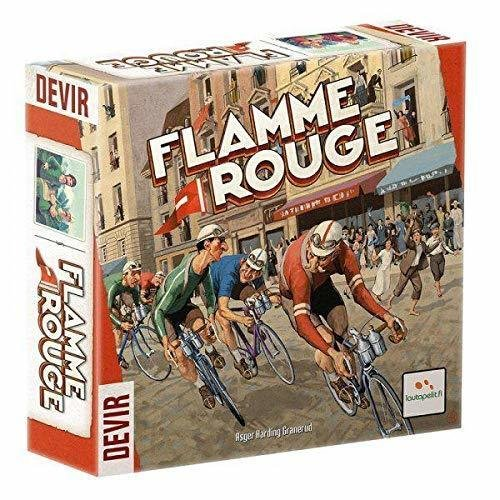 VINCITORE GIOCO SCATOLA flamme rouge