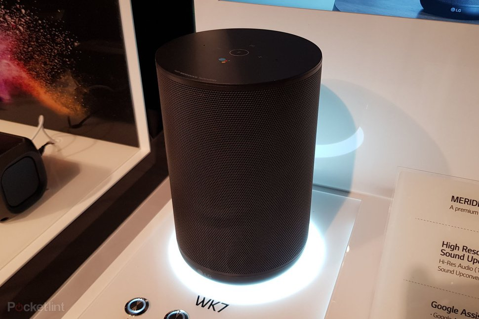 144282 smart home review hands on lg wk7 thinq speaker review image1 qog2lzcmgw