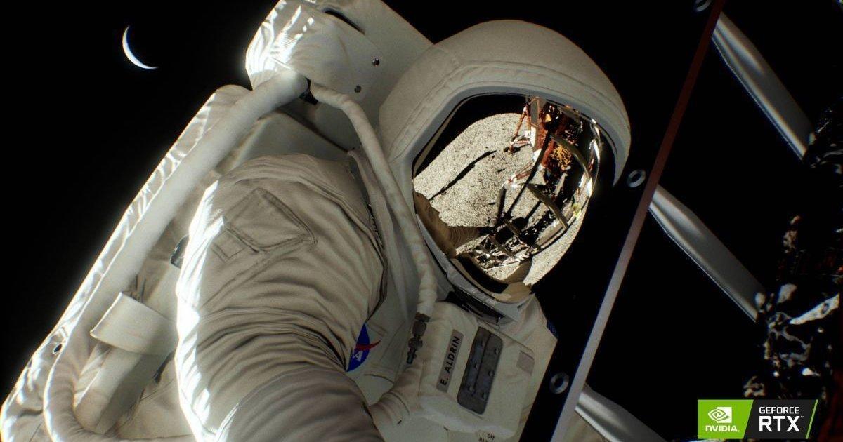 Nvidia: le GPU Turing confermano che siamo andati sulla Luna