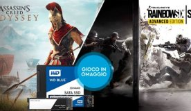 Compra un SSD e ricevi gratis Assassin's Creed Odyssey o Rainbow Six Siege