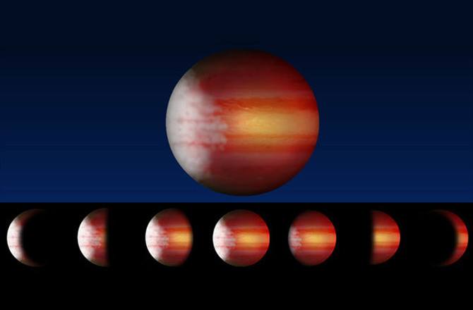 exoplanet weather cloudy heat