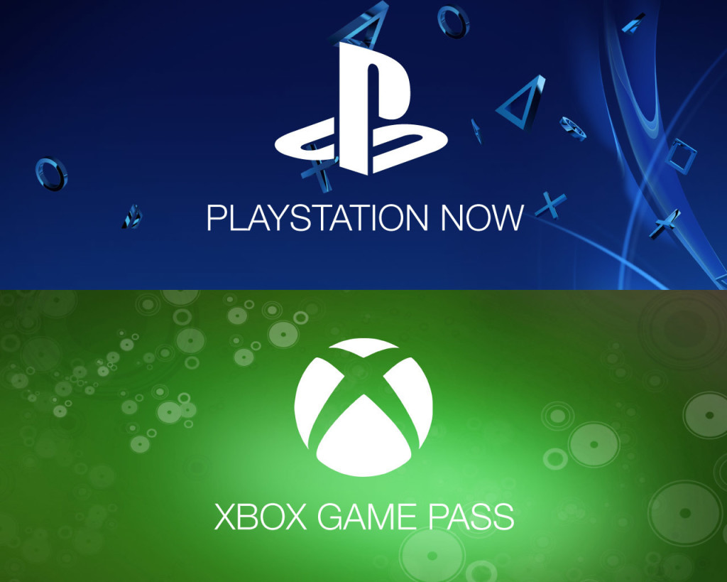 PlayStation Now Xbox Game Pass