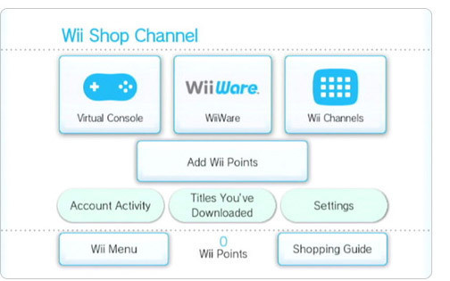 2287885 wii shop channel