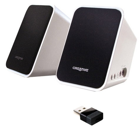 Creative inspire s2 wireless kit altoparlanti 2 1 tom 39 s - Stereo casse wireless ...