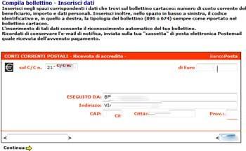 Poste italiane e la beffa dei bollettini online tom 39 s - Dove trovo i dati catastali ...
