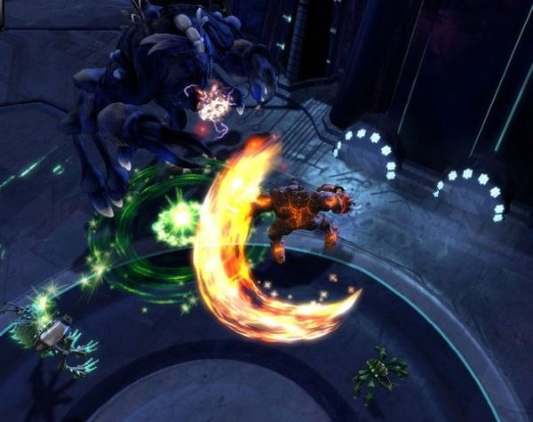 Darkspore combattimento - clicca per ingrandire