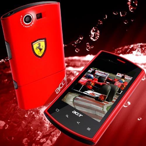 Acer Liquid E Ferrari Cellulare Android Rampante Mobilelabs