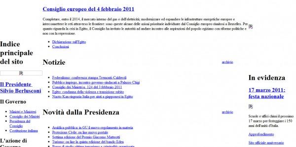Attacco hacker contro nessun ferito tom 39 s for Sito governo italiano