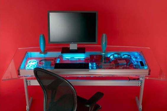 un computer dentro a una scrivania - tom's hardware - Scrivania Con Computer