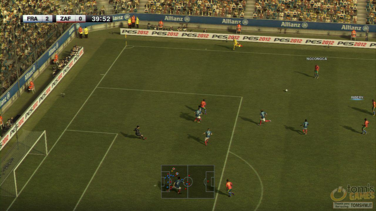 Pro Evolution Soccer 2012 - Screenshot 24