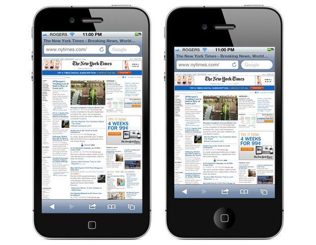 schermo iphone 5 sfarfallio