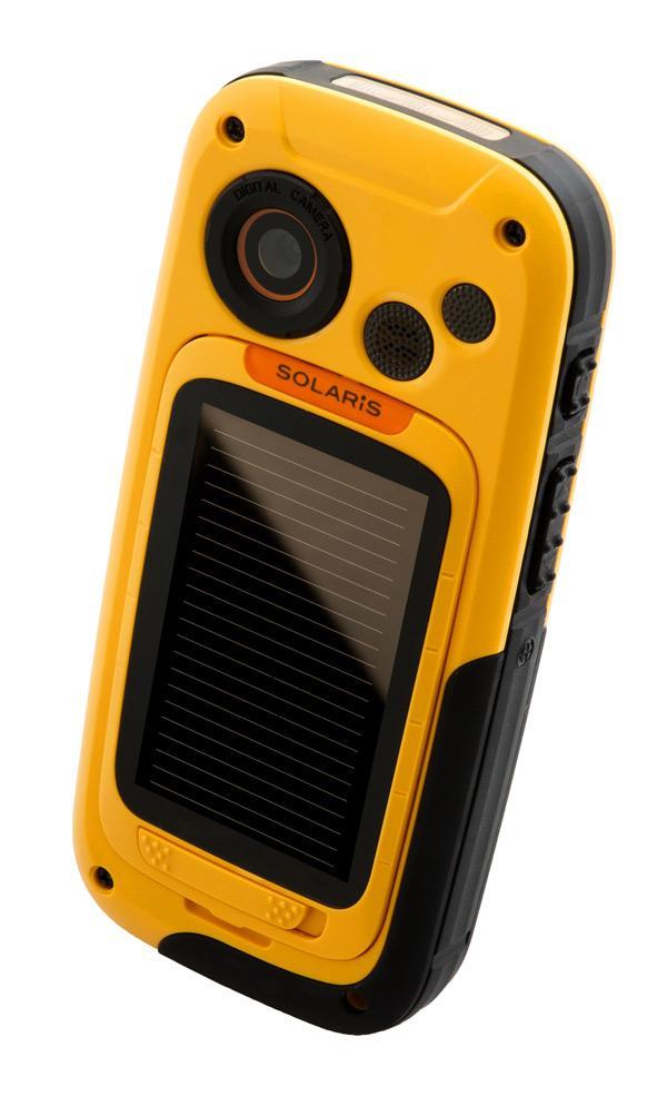 Pannello Solare Integrato Quality : Cellulare ttm outlimits solaris con pannello solare
