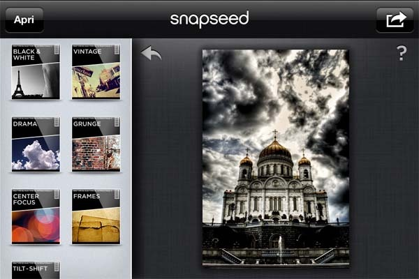 snapseed per pc