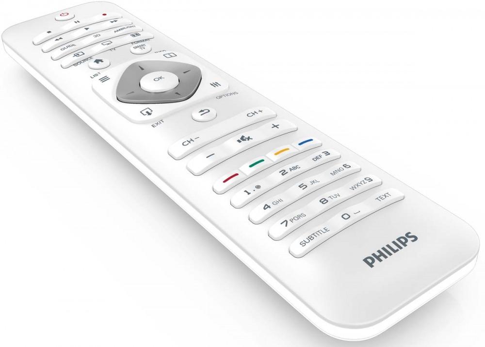 Philips designline la smart tv bella anche da spenta for Philips telecomando