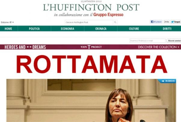 Huffington Post in Italia, unica diva Lucia Annunziata