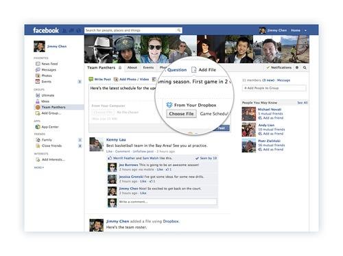 Pirateria su Facebook grazie alla nuova funzione Dropbox