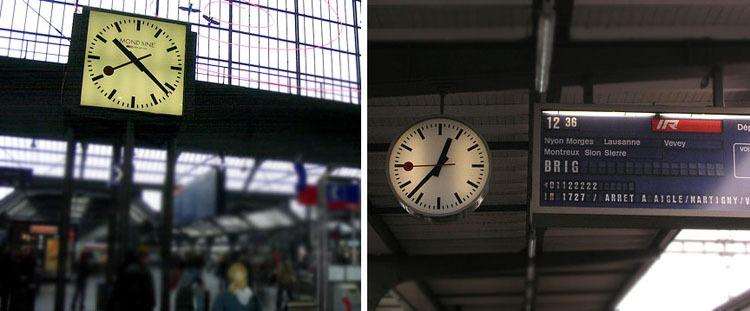 Orologio stazione svizzera apple for Orologio da stazione